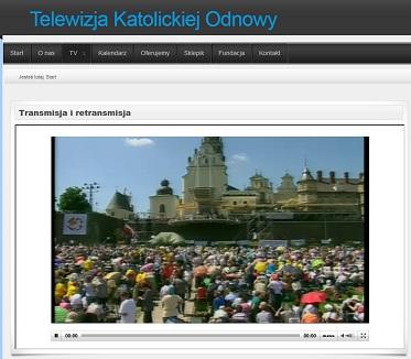 Transmisja naszej TV na żywo 18-19 maja 2012r.