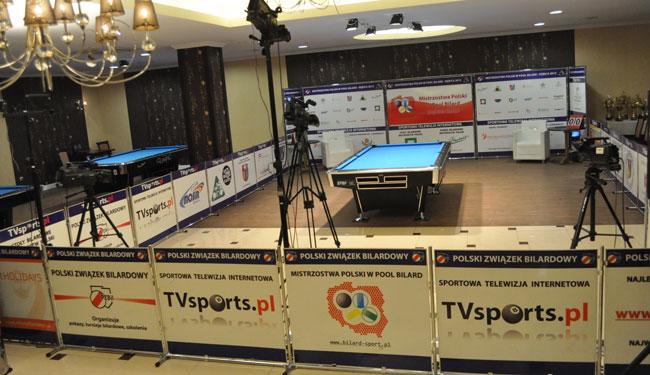 Mistrzostwa Polski w  Bilard - Dębica 2012  na żywo na  TVSports